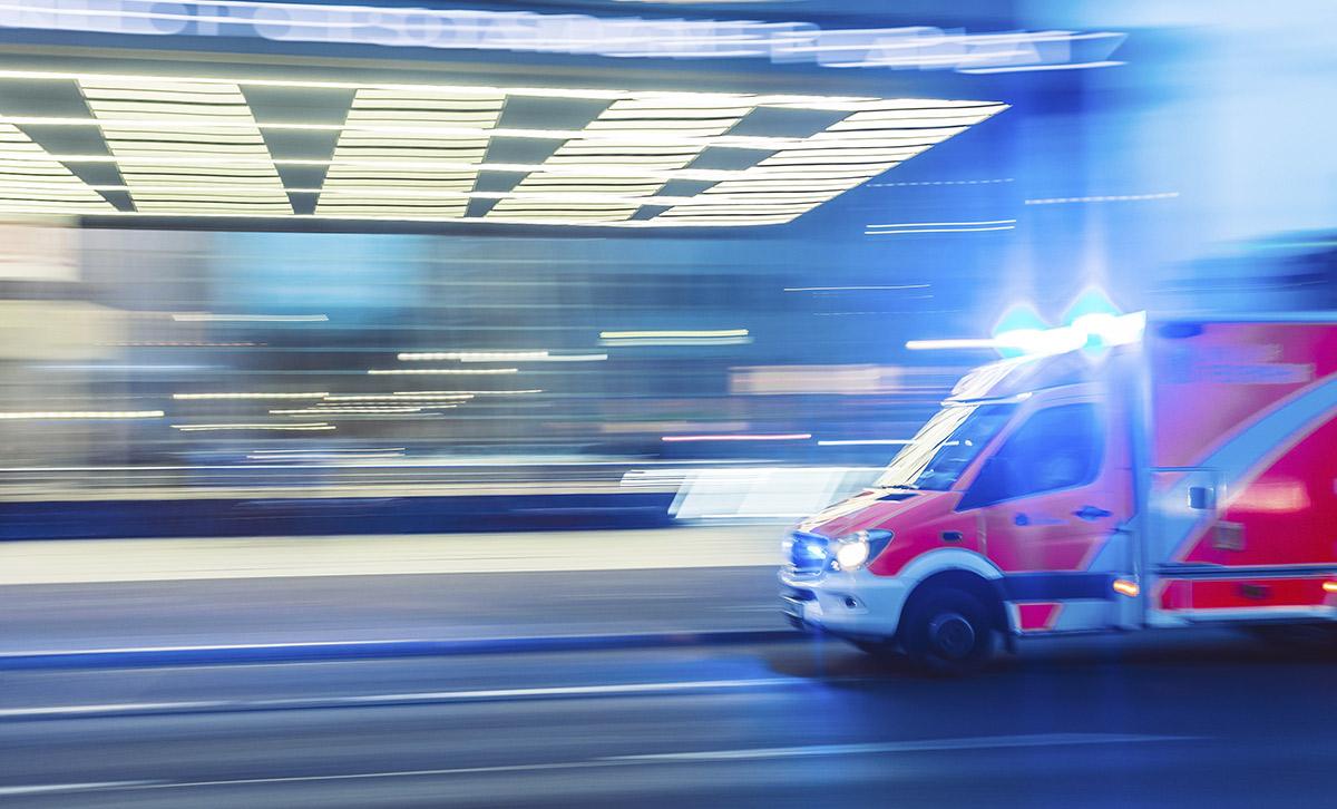 Ambulancia destacada